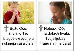 molitve uz jelo