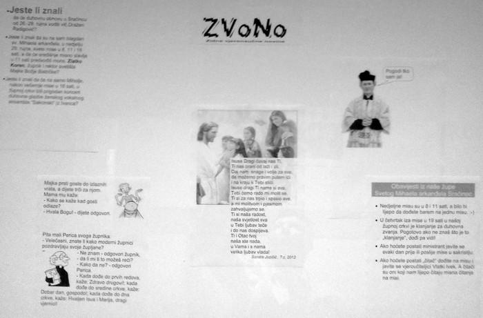 """Zidne vjeronaučne novine """"ZVoNo"""""""