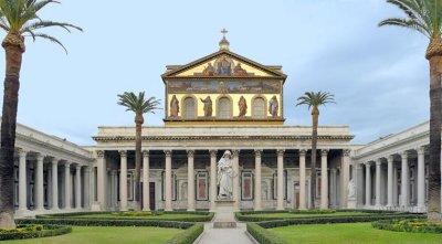 360° slike bazilike sv. Pavla izvan zidina
