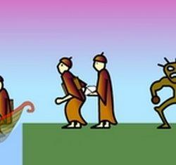 """Igrica """"misionari trebaju prijeći rijeku"""""""
