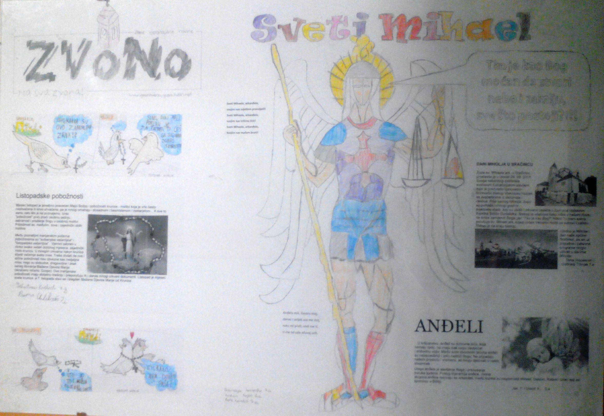Plakat sv. Mihaela