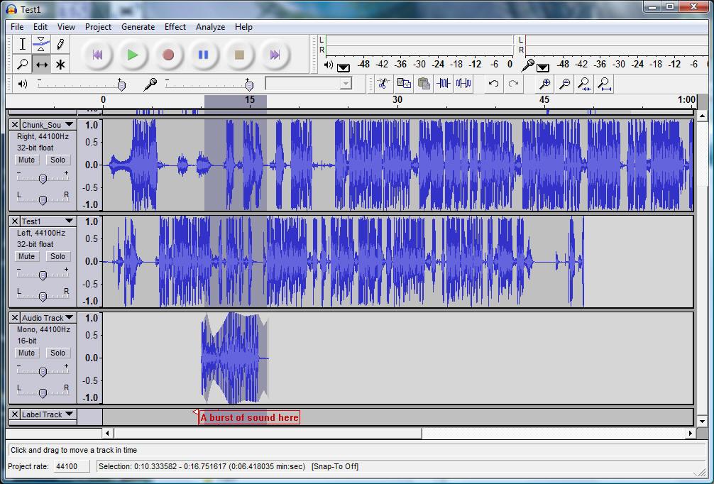 Uređivanje zvukova