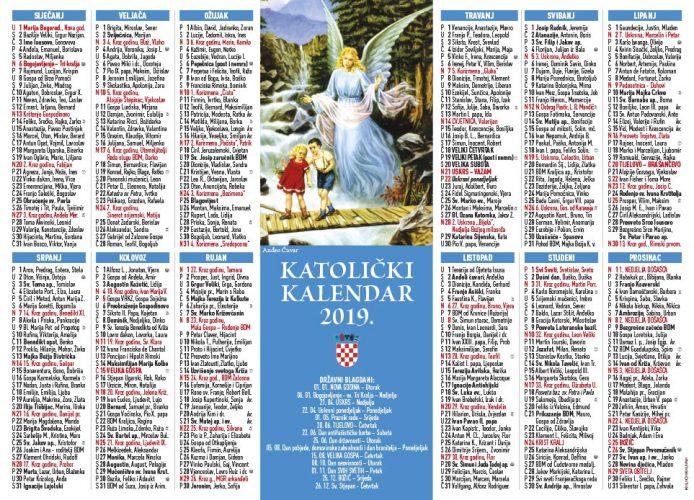 Katolički kalendar